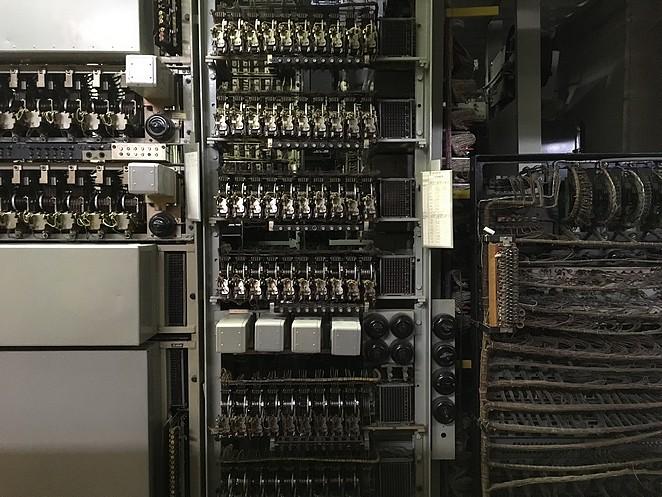 telefooncentrale-vroeger