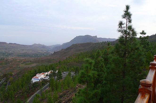 uitzicht hotel-binnenland-gran-canaria
