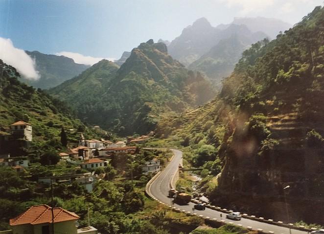 Madeira -binnenland