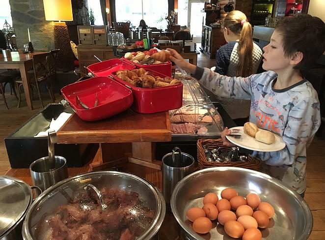 hotel-met-ontbijtbuffet