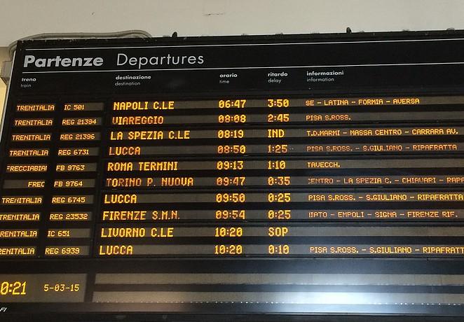 treinen-italie
