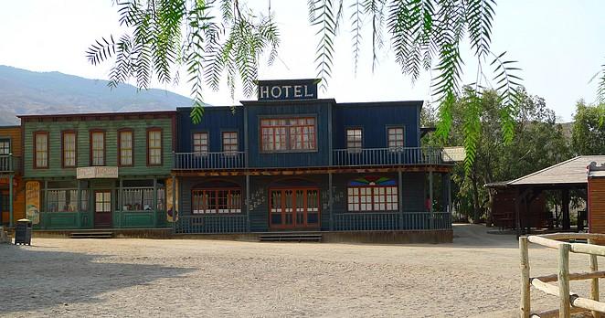 Nagebouwd hotel Oasys Tabernas