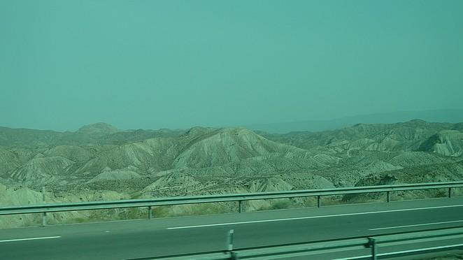 Woestijn van Tabernas Follow my footprints