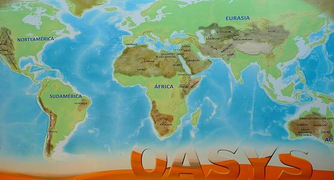 Woestijnen in de wereld