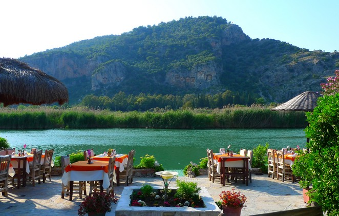 Dalyan-rivier-restaurants