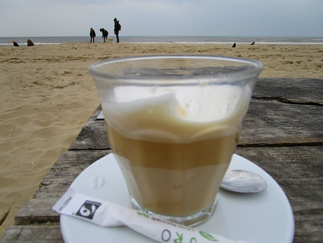 koffie-strandtent