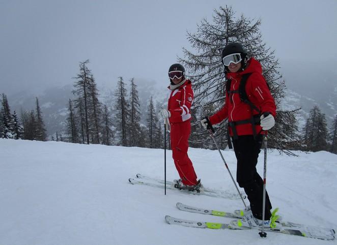 Serre Chevalier 21 skien gevorderden