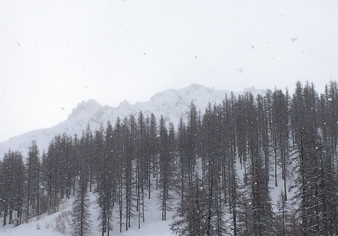 Serre Chevalier 28 sneeuwcondities