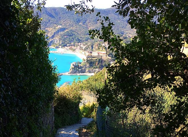 Uitzicht op Monterosso