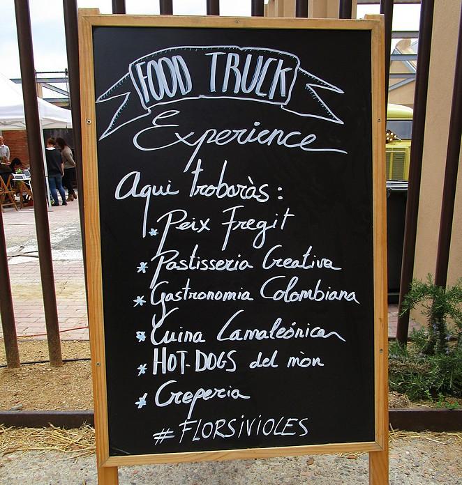 Food Truck Experience tijdens Flors i Violes