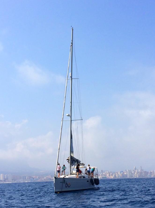 Zeilboot-Benidorm