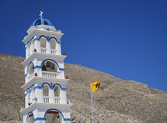 Kerk Perissa Griekenland
