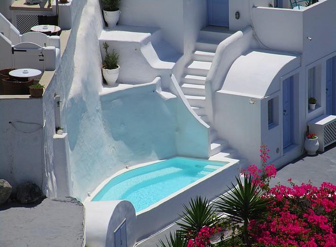 Mooie boetiekhotels op Santorini