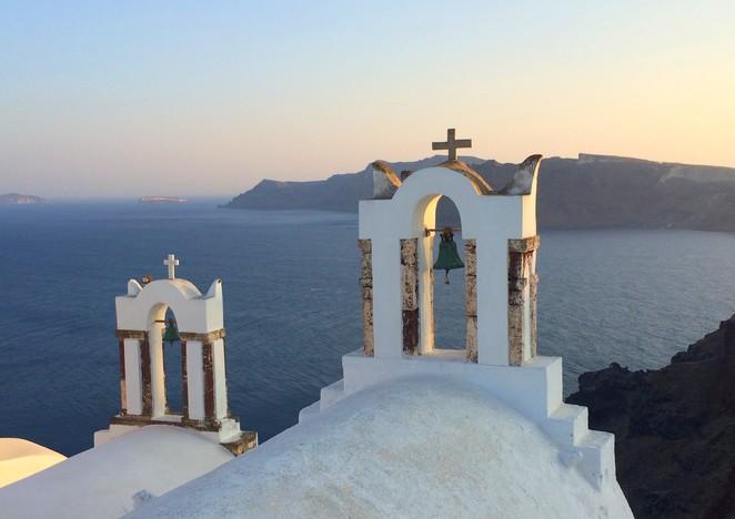 Oia Santorini Cycladen