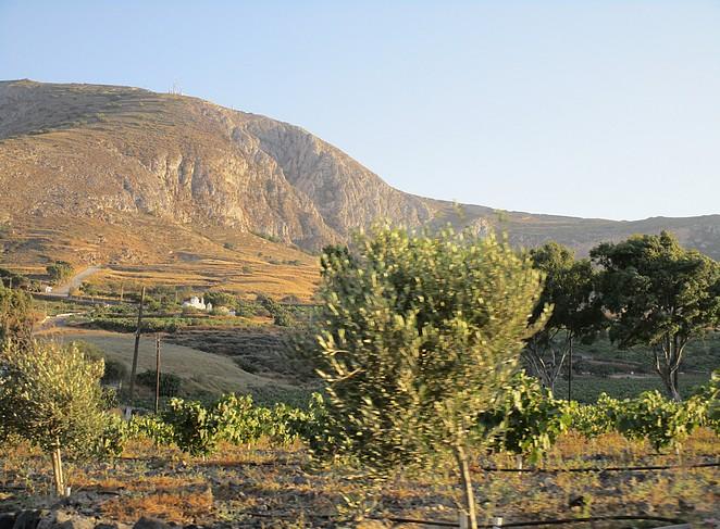 Roadtrip Santorini binnenland en oostkust