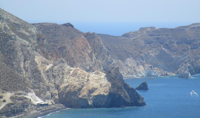 Roadtrip door het zuiden van Santorini