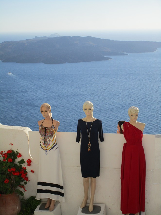 Shoppen Fira Santorini