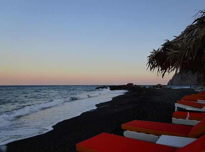 Strand Kamari Santorini