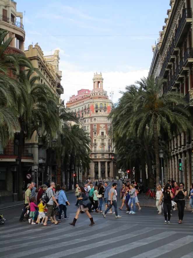 valencia-straatbeeld