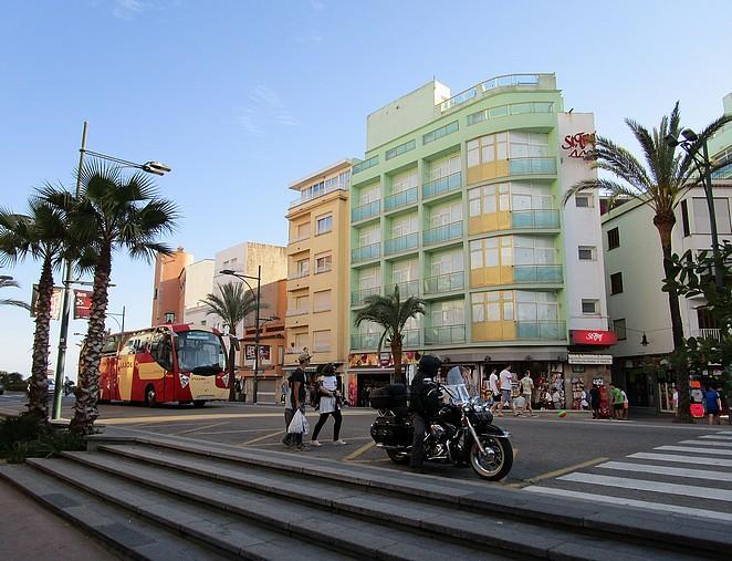 Lloret-de-mar-straatbeeld