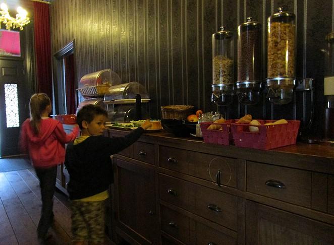 Ontbijt Waddengenot hotel Waddenweelde