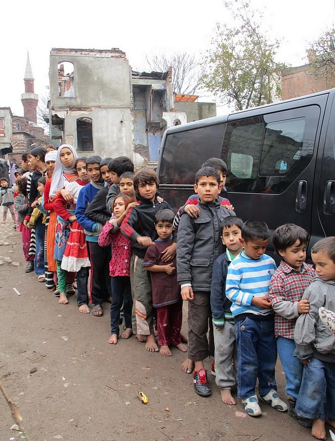 Oog in oog met Syrische vluchtelingen
