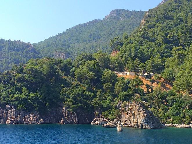 Varen op de Egeische zee