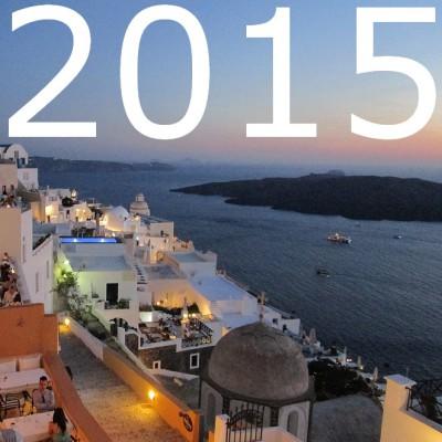 Jaaroverzicht 2015: 10x weg in 1 jaar