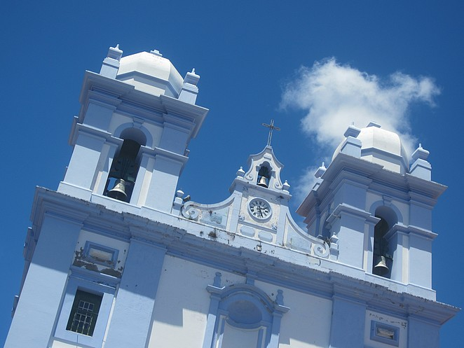 Azoren Kerk in Angra do Heroismo