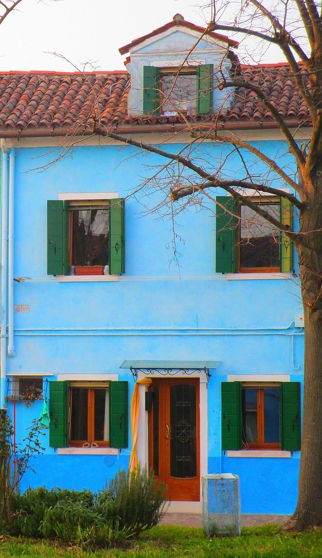 Burano bij Venetie