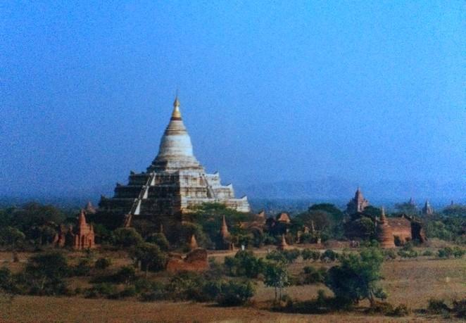 Burma Bagan uit de oude doos
