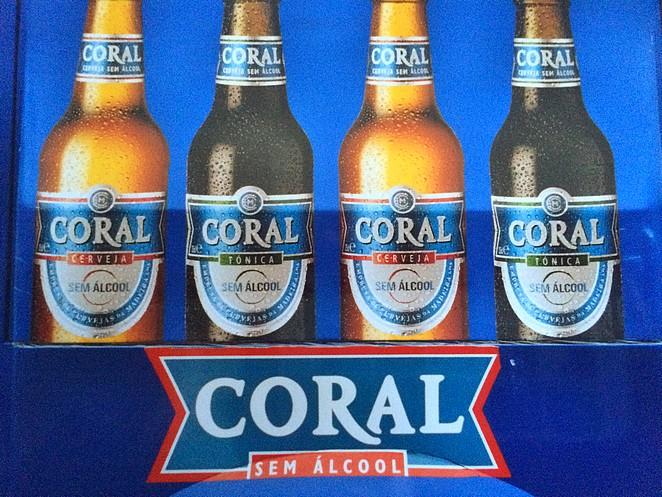 Coral bier Madeira