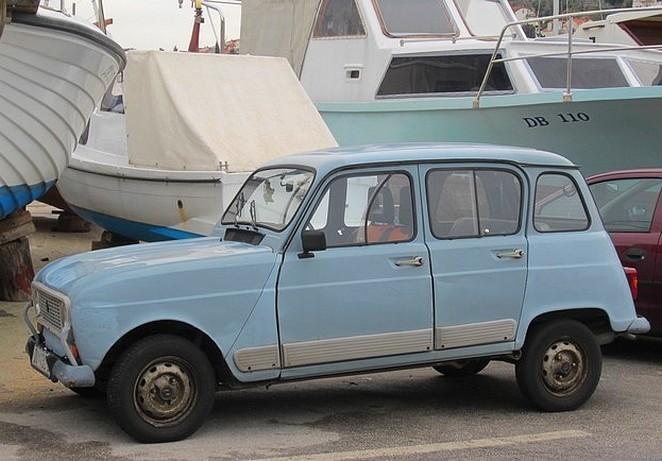 Dubrovnik auto in de haven