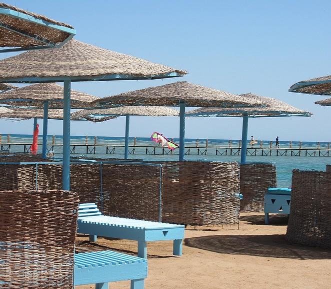 El Gouna Egypte strand