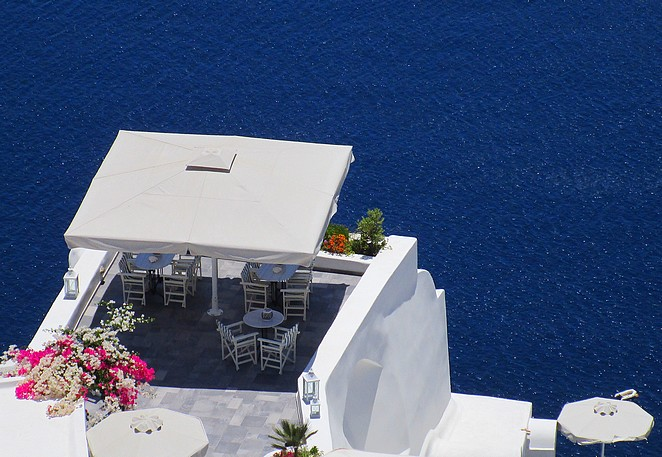 Fira Santorini Cycladen