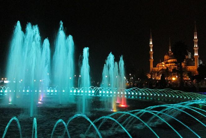 Fonteinen Istanbul