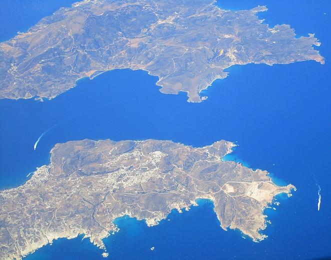 Griekenland vanuit de lucht