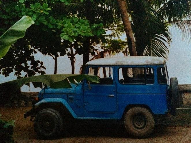 Jeep in Luang Prabang 2002