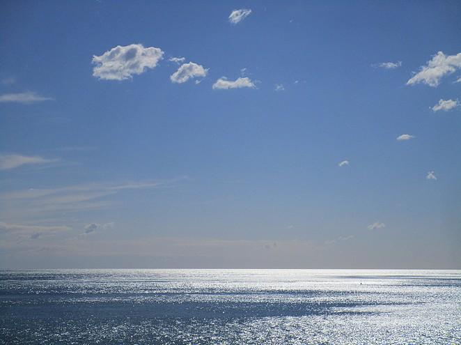 Ligurie Italie strand