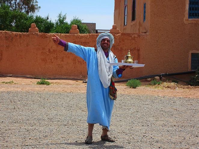 Marokkaan met thee