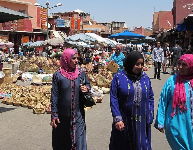 Marokkaanse vrouwen Marrakech