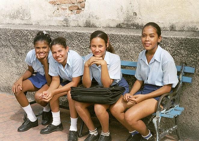 Meisjes Cuba