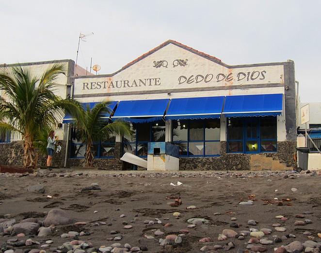 Restaurant Dedo de Dios vergane glorie