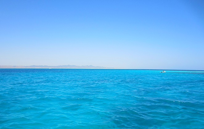 Rode Zee bij El Gouna