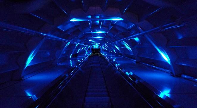 Roltrappen bj Atomium