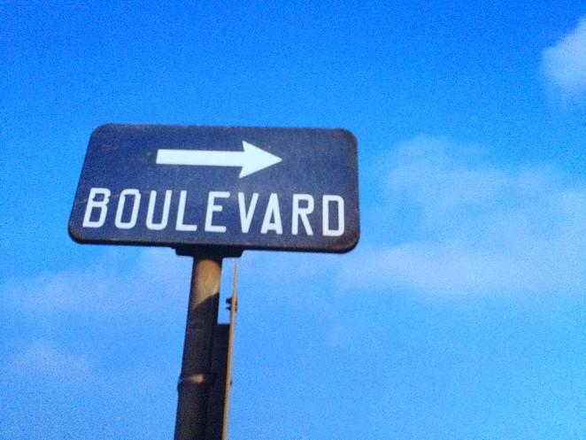 Scheveningen oude foto boulevard