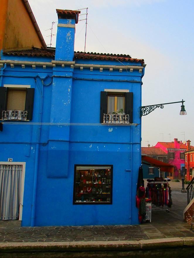 Schilderachtig plaatsje Burano