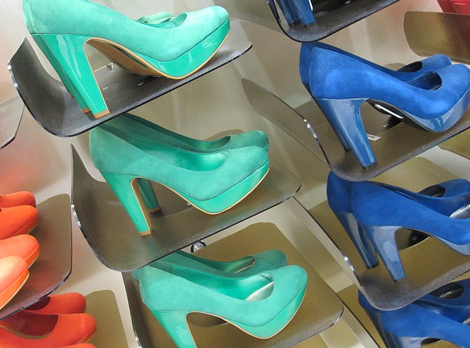 Schoenen in shoppingmall Casablanca