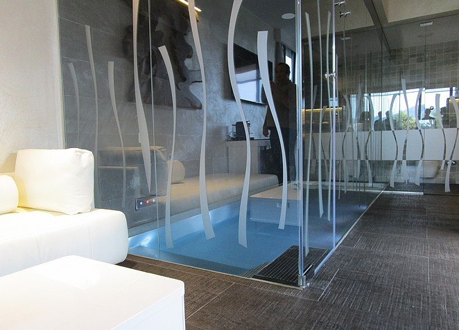 Suite van mooi luxe hotel bij Costa Brava