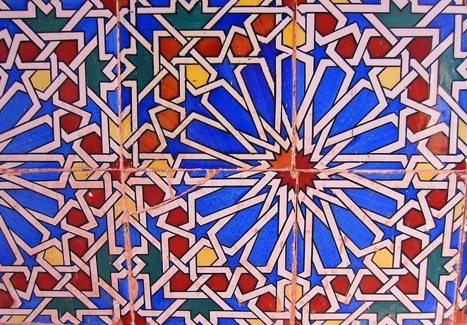 Tegels Marokko